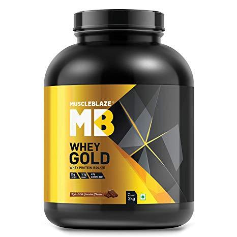nutriara MuscleBlaze Whey Gold 100% Whey Protein Isolate