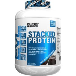 Evlution Nutrition ( EVL ) Stacked Protein (Chocolate, 4lb)