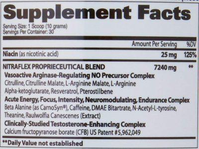 NUTRIARA GAT SPORTS Nitraflex 30 Servings