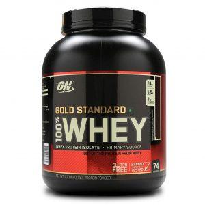 Optimum Nutrition (ON) Gold Standard 100% Whey – (5 lbs)