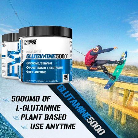 Evlution Nutrition ( EVL ) Glutamine 5000 60 Serving
