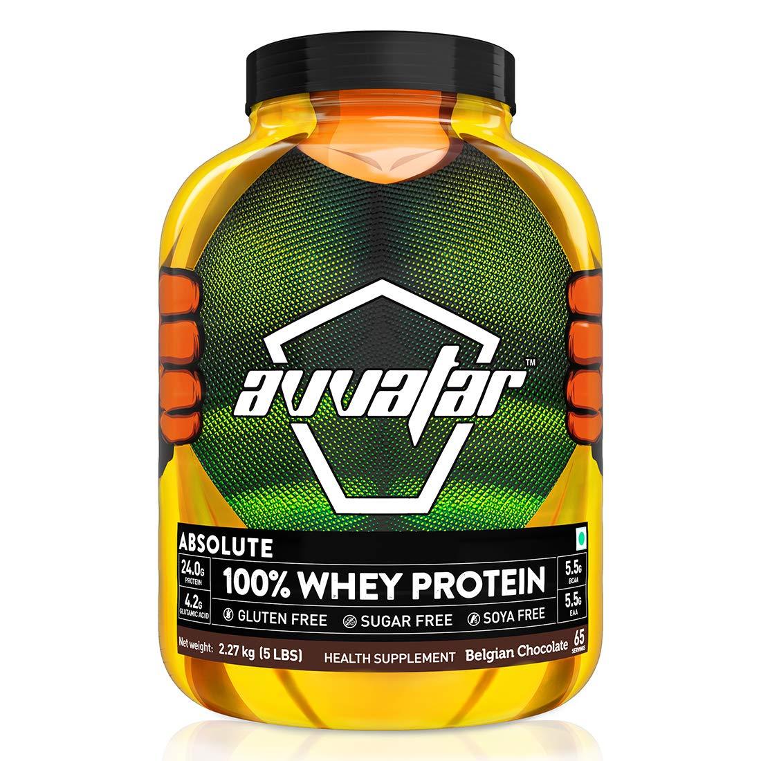 Avvatar 100% Whey Protein 5 lbs