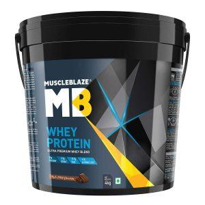 MuscleBlaze 100% Whey Protein (8.8lb/4kg)