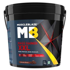 MuscleBlaze Mass Gainer XXL (11lb)