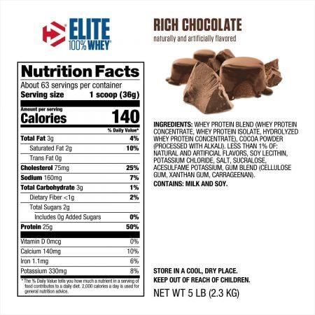 NUTRIARA Dymatize Elite 100% Whey Protein