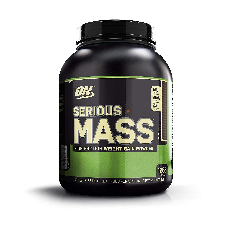 nutriara optimum nutrition (on) serious mass