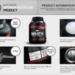 Optimum Nutrition 100% Whey Protein (4.5lb)