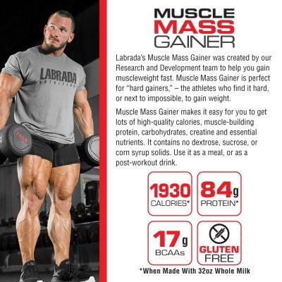 nutriara labrada muscle mass gainer