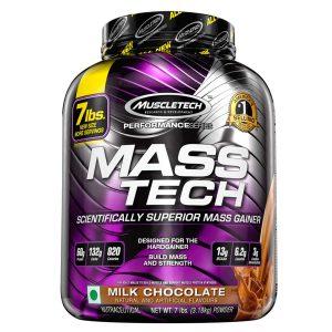 MuscleTech Performance Series Mass Tech (7lb, Milk Chocolate)