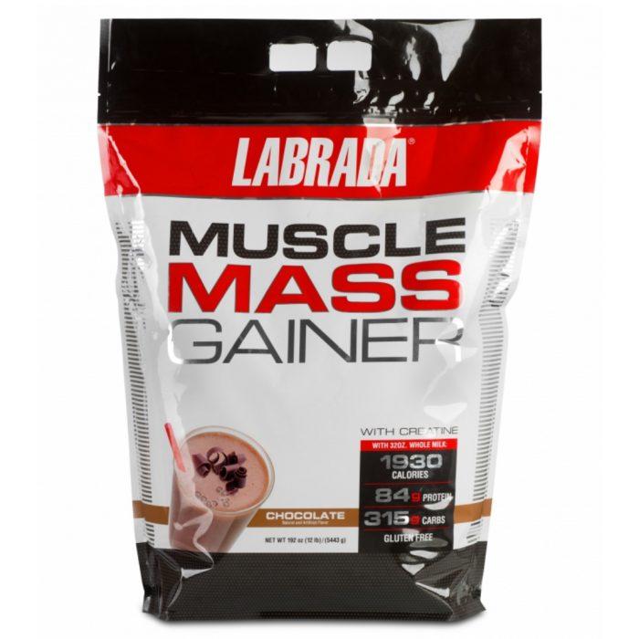 NUTRIARA Labrada Muscle Mass Gainer, 12lb