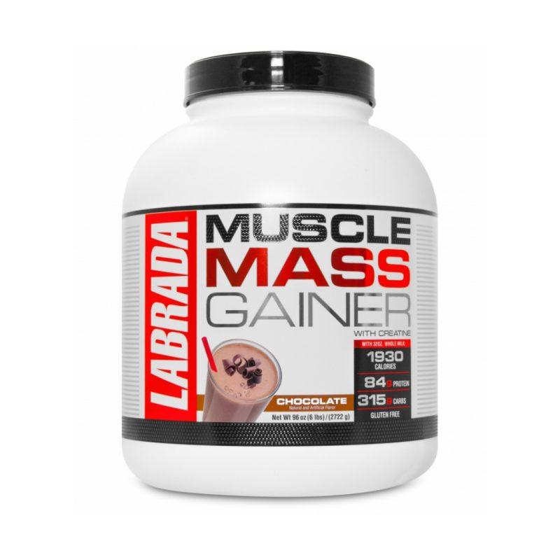 NUTRIARA Labrada Muscle Mass Gainer, 6lb