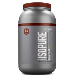 Isopure Low Carb Isolate Protein (Chocolate, 3lbs)