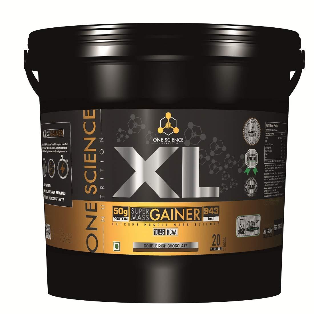 nutriara One Science Nutrition XL Super Mass Gainer 11lb