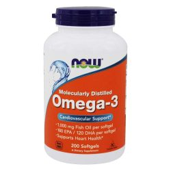 Now Foods Omega-3, Fish Oil (200 Softgels)