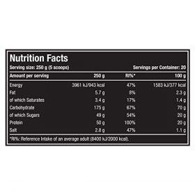 nutriara One Science Nutrition XL Super Mass Gainer11lb