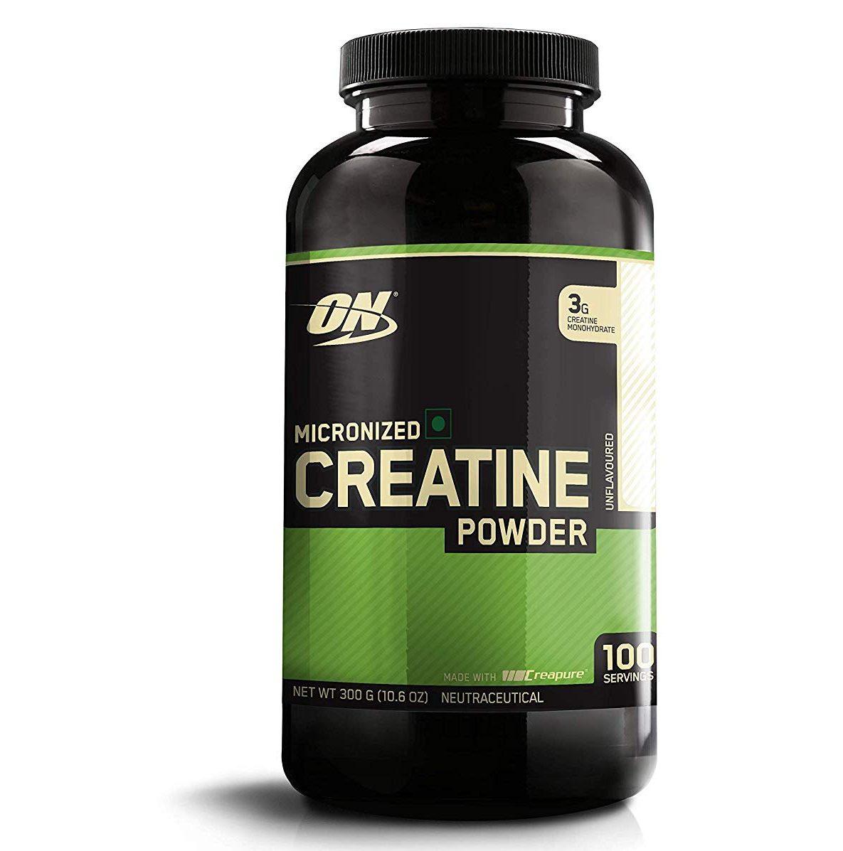 Optimum Nutrition (ON) Creatine Powder (100 Servings, Unflavored)