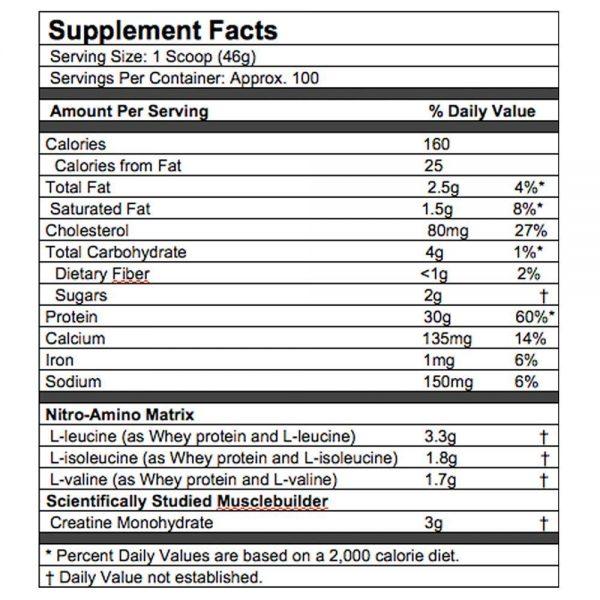 muscletech nitrotech 10 lbs nutriara