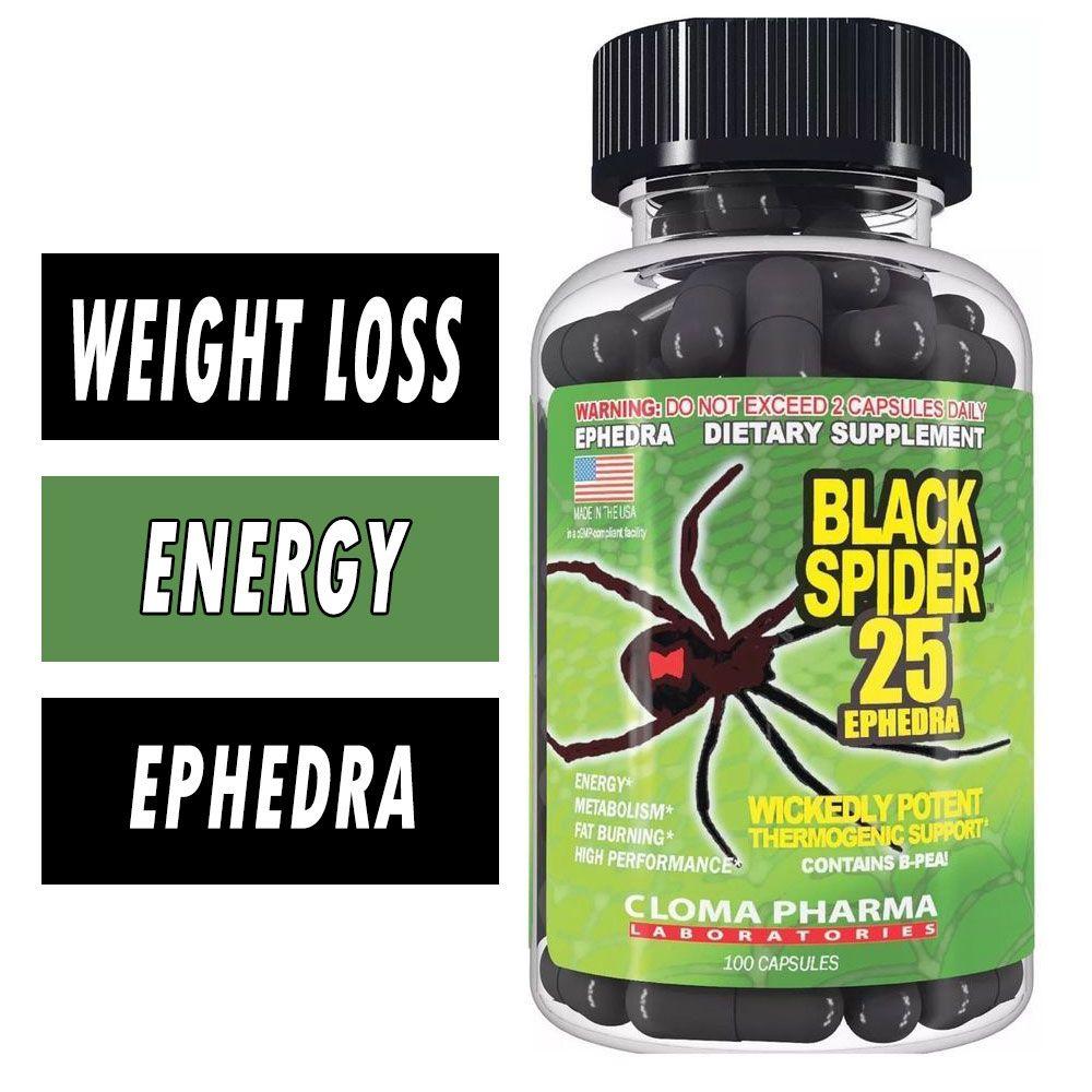 cloma black spider fat burner nutriara