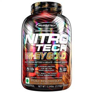 MuscleTech Nitrotech Whey Gold (5.54lb, 2.51Kg) (New Pack)